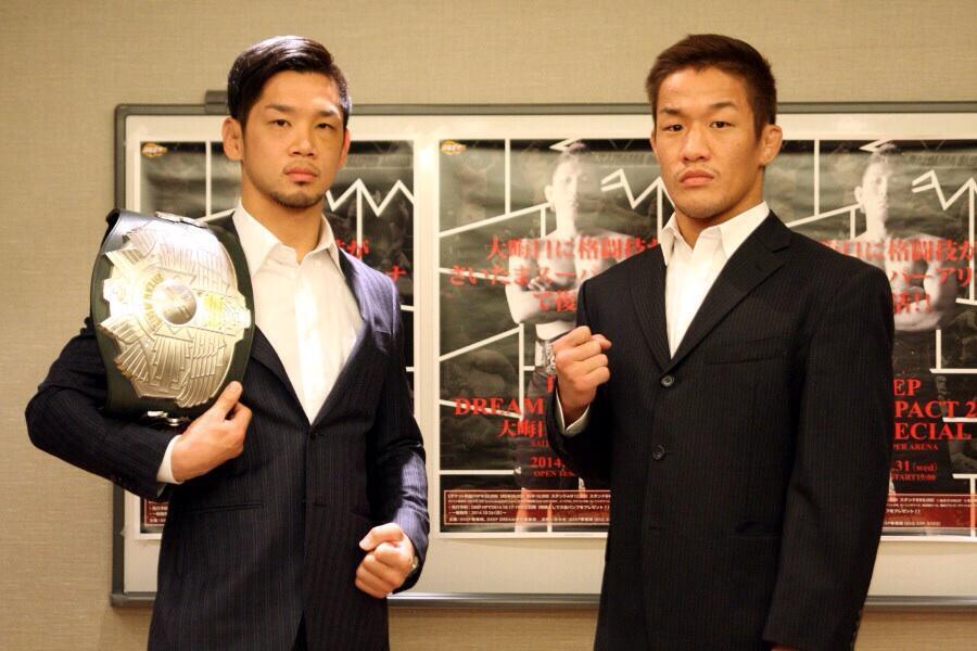 試合決定です  DEEP大晦日埼玉スーパーアリーナでパンクラス現バンタム級チャンピオンの石渡選手とやります http://t.co/jNWFfjAjr2