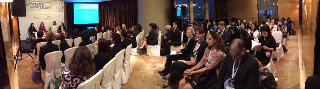 Great turnout Women in Private Equity Session at the 27th AVCJ Forum. #avcjforum #pe #vc http://t.co/42AaPw8a8h