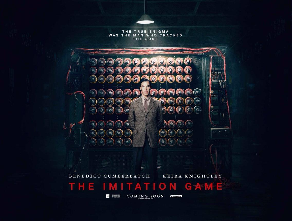See Benedict Cumberbatch as Alan Turing in The #ImitationGame this Friday.Do you have your tickets? @ImitationGameUK http://t.co/ygMlFcWhxx