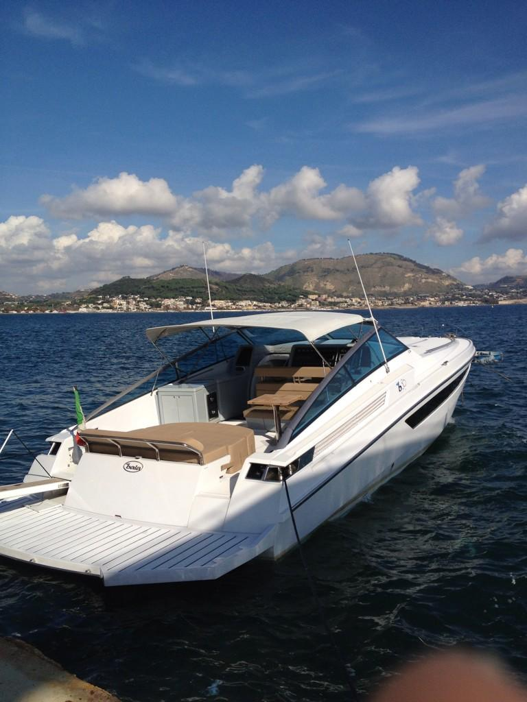 Ready for Sea trial on the Baia B50 http://t.co/MSb5A74vE3