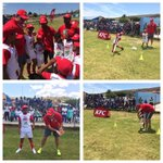 Thx to St Andrews school for having me!had great time getting active with #kfcminicricket kids @OfficialCSA @KFCSA http://t.co/MbLT7wAUN1