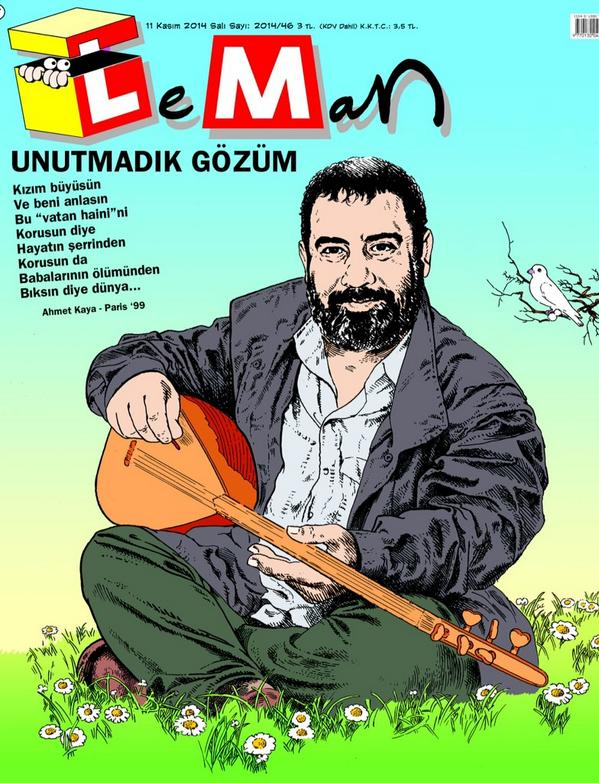 Ahmet Kaya (@AhmetKayaGam): Leman Dergisi'ne teşekkürlerimizle @lemandergisi ---> http://t.co/NyDXOAa3J8 http://t.co/QVH1w3yQL3