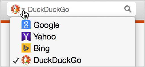 If you're using the latest version of @firefox, you can now find DuckDuckGo in the default search engine's list! http://t.co/0Ai3Dgzmwq