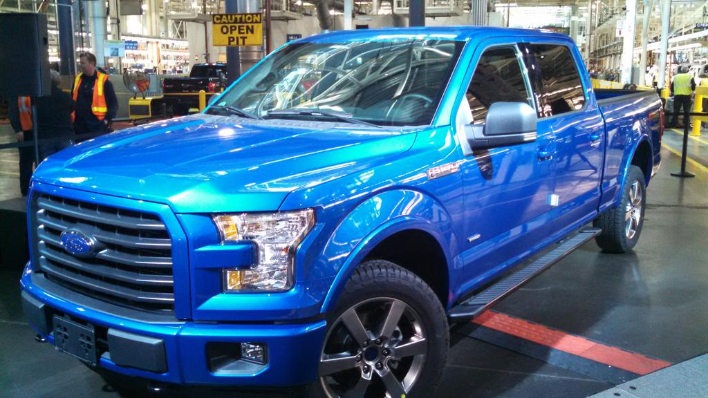 It's official launch day for the new @ford aluminum F-150! #FordTough #backchannel http://t.co/05RGYOiJeU