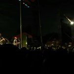 A meteor shot across the sky in the middle of a Modest Mouse concert. http://t.co/CPvkE9bDbK http://t.co/o1Pgxu3DiP
