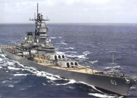 Great picture of the USS MISSOURI on this Veterans Day. http://t.co/pNdnz6SXuz