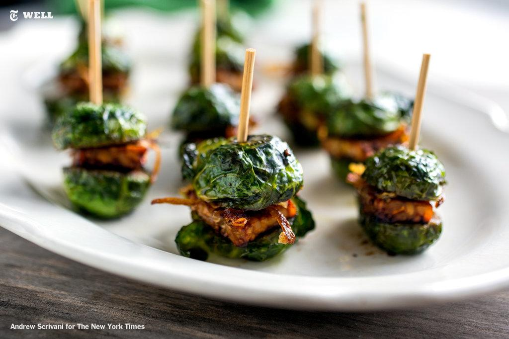 Well is kicking off its annual Vegetarian Thanksgiving with Brussels Sprouts Sliders http://t.co/yK1FqJD6Kk http://t.co/DX5w1r7tic