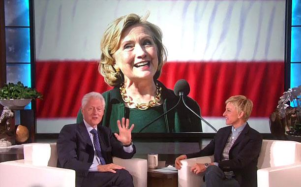 Bill Clinton has a 'big announcement' about Hillary...