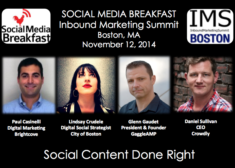 Great speakers today @ #IMS14. Looking forward to tomorrow's special breakfast at 745am http://t.co/46UDKPyXC3 #SMB38 http://t.co/RKfcgTJSeW