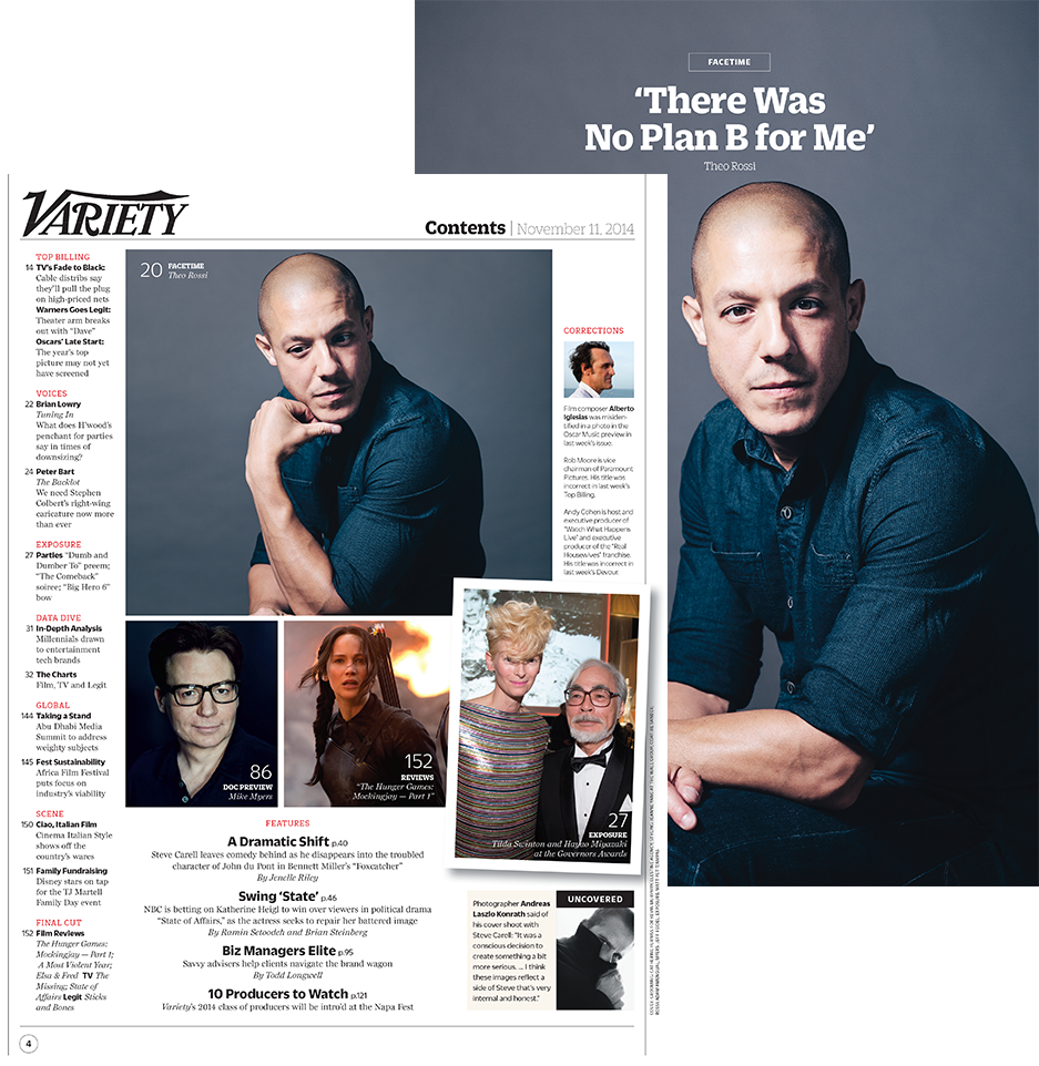 Thank you @Variety for this fantastic feature on @TheoRossi! #BadHurt #SOAFX #SaveJuice #FinalRide http://t.co/emOZGfxB9A