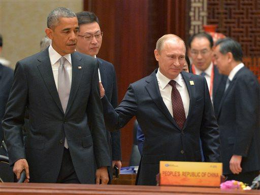 President Obama's trip to Asia is a boon for people who like awkward photos. (Photo: RIA Novosti) http://t.co/mRylwbV0aM