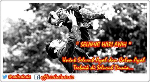 Selamat Hari Ayah ya, utk semua Ayah dan calon Ayah terbaik diseluruh dunia. http://t.co/Kfs689KFQE