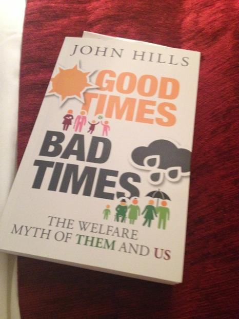Forensic analysis, and wonderfully readable from John Hills demonstrating that we are all welfare dependent. http://t.co/fgXttVDPcq