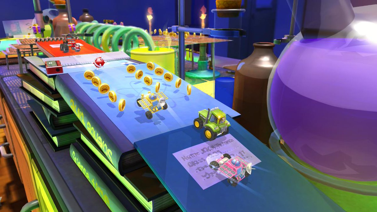 Ok, one more. >> RT for a chance to win a copy of @ToyboxTurbos on PC! Winner chosen in an hour. http://t.co/7LvW9lbIfF