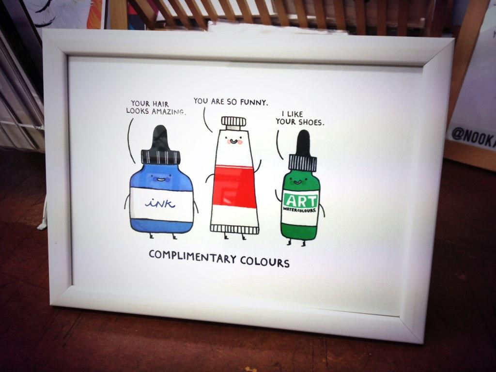 This print will forever make me laugh. #complimentarycolours http://t.co/2wVcbWH6bW