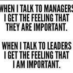 RT @geoff_deweaver: Great Tweet via @sandy_carter --> Leadership is different than management #socbiz #leadership  cc.@JohnEMichel