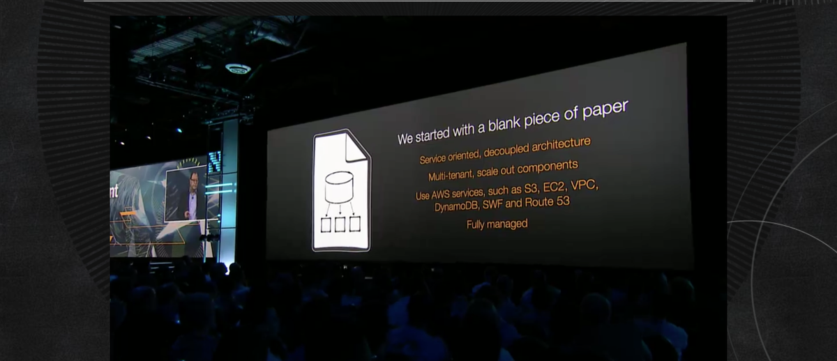 def. of win-win: MySQL tooling, AWS power, managed service.  Amazon Aurora is a very exciting new service  #reinvent http://t.co/yaY2RV4osg