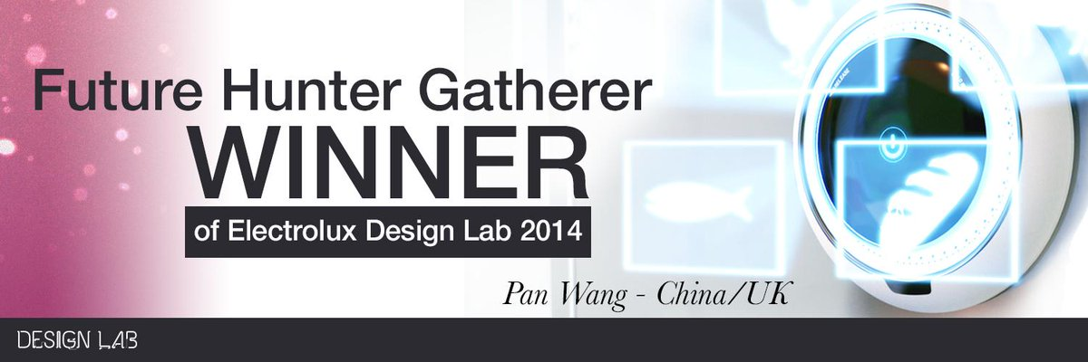 Future Hunter-Gatherer is the WINNER of #DesignLab2014! Congratulations!!  http://t.co/wT0UebJUHS http://t.co/EZMyprpXRB