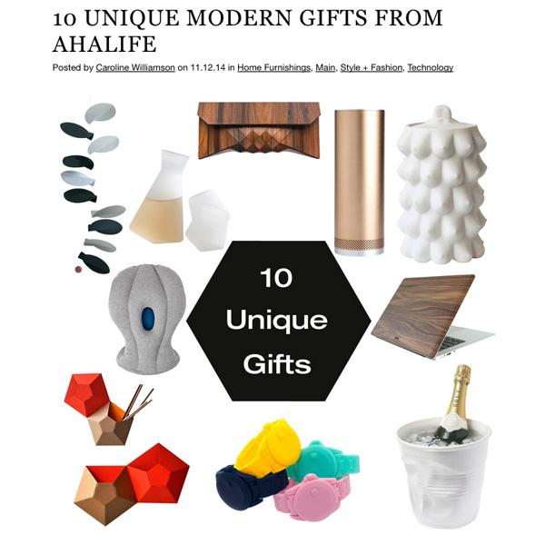 The flawless tastemakers @designmilk @element75 just curated their top 10 AHAlife gifts! http://t.co/tlmbQReQYQ http://t.co/OVwGibrTRQ