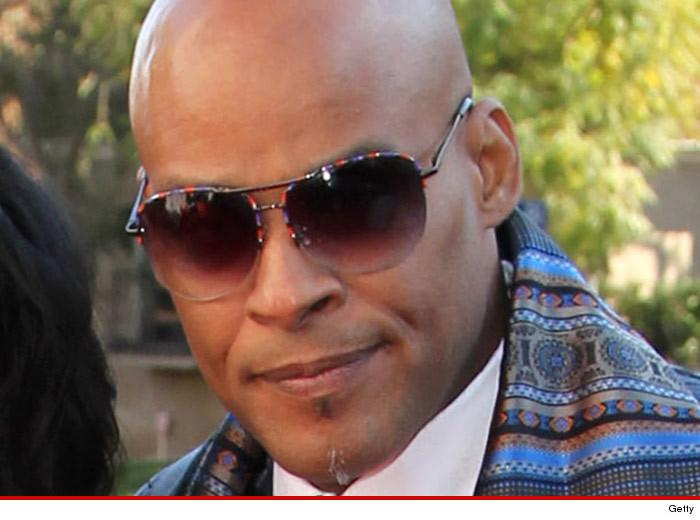 Son of Motown legend, David Ruffin, BUSTED for domestic violence