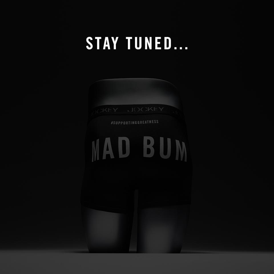 #MadBum's performance will last forever, but MadBum undies are about run out. Stay tuned... #SupportingGreatness http://t.co/v9FbEoDobN