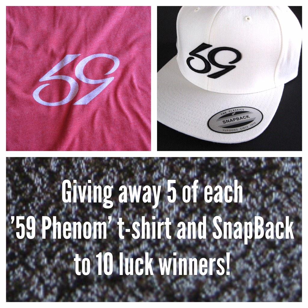 Contest #2 - 10 prizes! ReTweet to enter / **Must follow to be eligible to win. #59ContestExtravaganza http://t.co/yTw6WGaZ53