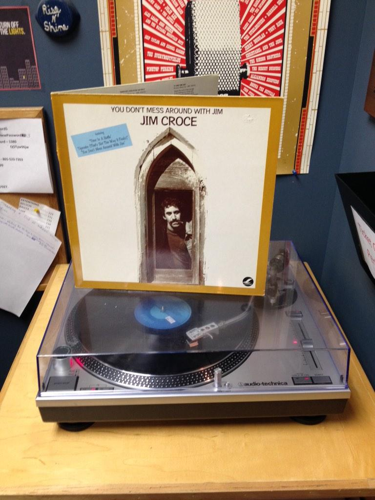Nelson's on the air with #AmericanaPulse. Tonight's #ClassicAlbum from @jimcroce is spinning on vinyl all night long. http://t.co/D4InRuGd3o