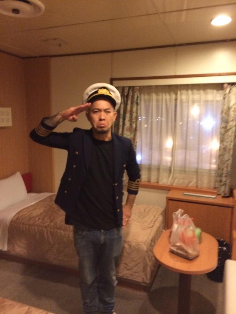 北海道ありがとう!いざ石巻へ。 http://t.co/bPIw4uH78Q