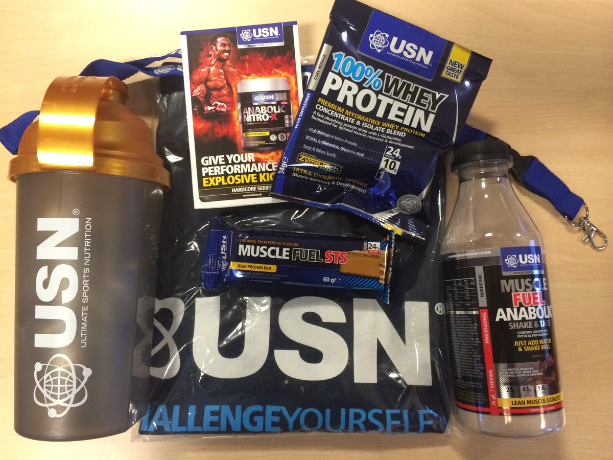 #GIVEAWAY RT & FOLLOW @USN_UK To #WIN this fantastic bundle (Announced 14/11) #Competition! It's USN #CompThursdays! http://t.co/nRpv3Az0le