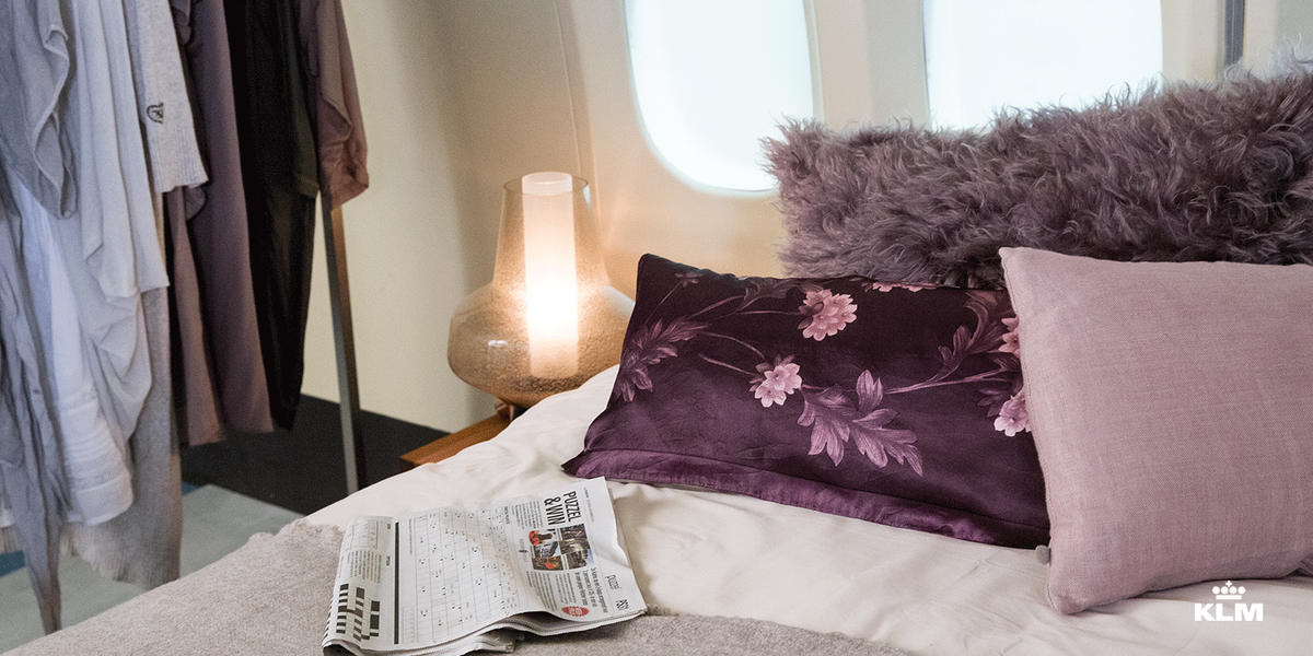 Fly airbnb? Win an overnight stay on-board of a KLM aircraft here