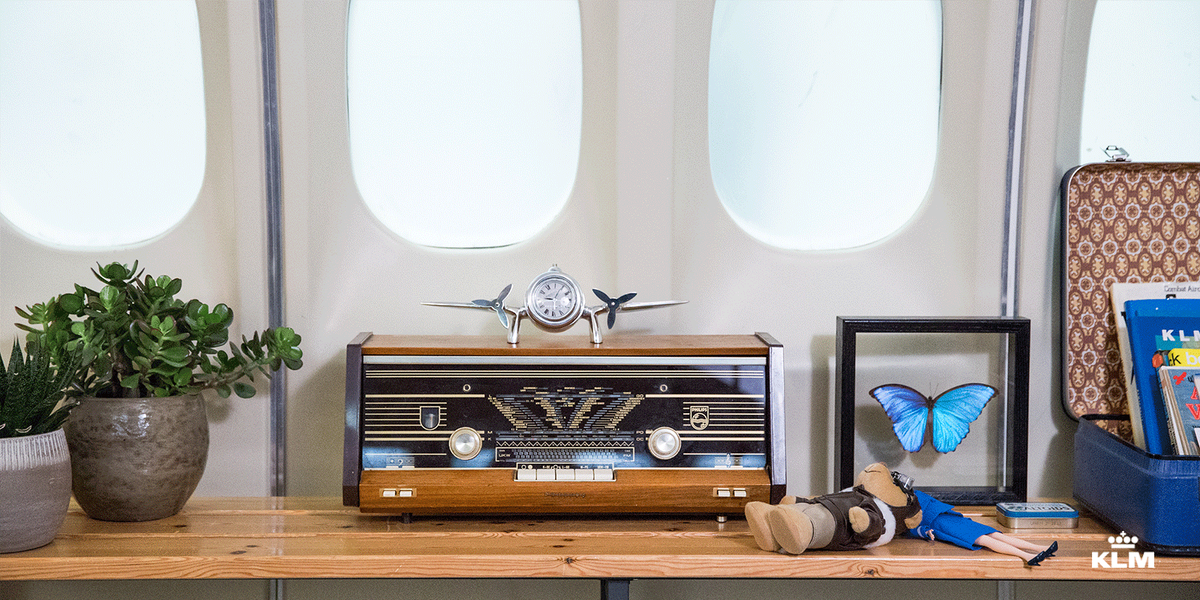 Recommended by Airbnb: the KLM aircraft-accommodation. Win your stay here