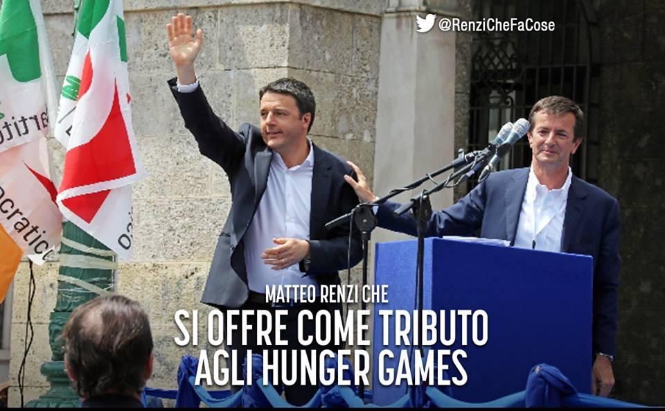 """@matteorenzi Ragazzo di Fuoco """"@RenziCheFaCose: #matteorenzi #chefacose #ghiandaiaimitatrice #matteorenzichefacose http://t.co/Muf0nlNLAL"""""""