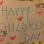 Happpy Children's Day all amazin lil 1s & to the children in us all..Our kids said Mama wheres our card haaha so here