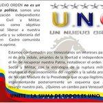 Quieres  saber que  es #UNO UN NUEVO ORDEN   http://t.co/NGCa2pyrN8 #HastaCuandoVzla