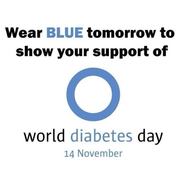 Happy #WDD Eve #doc #pwd #cwd show your support for those touched by diabetes. http://t.co/DxkQrsSHV1