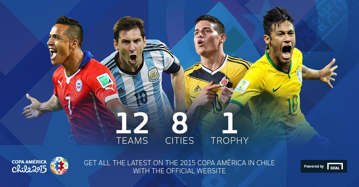 Need more online football news? Come and join us at the official Copa América website. http://t.co/NvhgkL1lS3 http://t.co/vYFtBE80ek