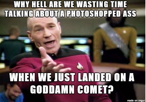 Who ever created this is a genius. #comet #Philae http://t.co/domNgyfD1r