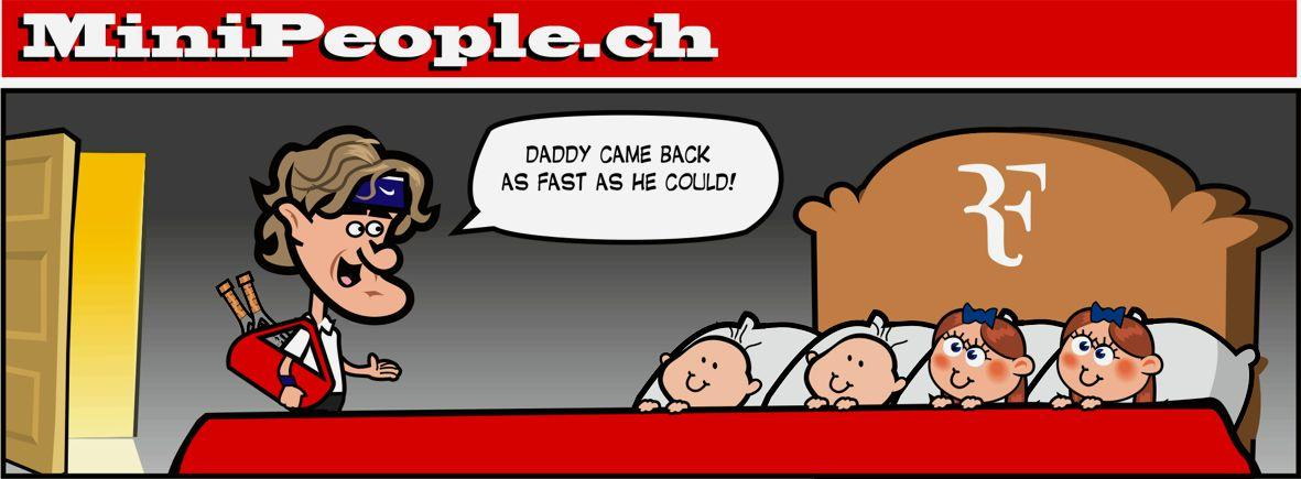 """@SI_Tennis: The Swiss have jokes. Mean (and accurate) jokes. RT @SwissMinipeople: #FedererMurray http://t.co/E0ohn1vZh7"""
