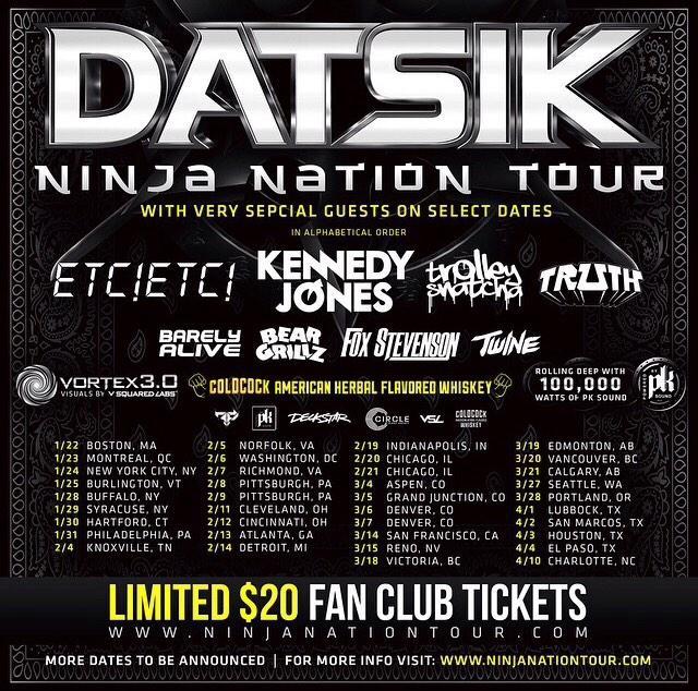 NEW TOUR!