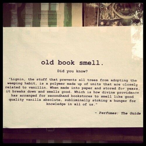 Ever wondered why books smell so great? Here's the reason. http://t.co/fYgjnenULj