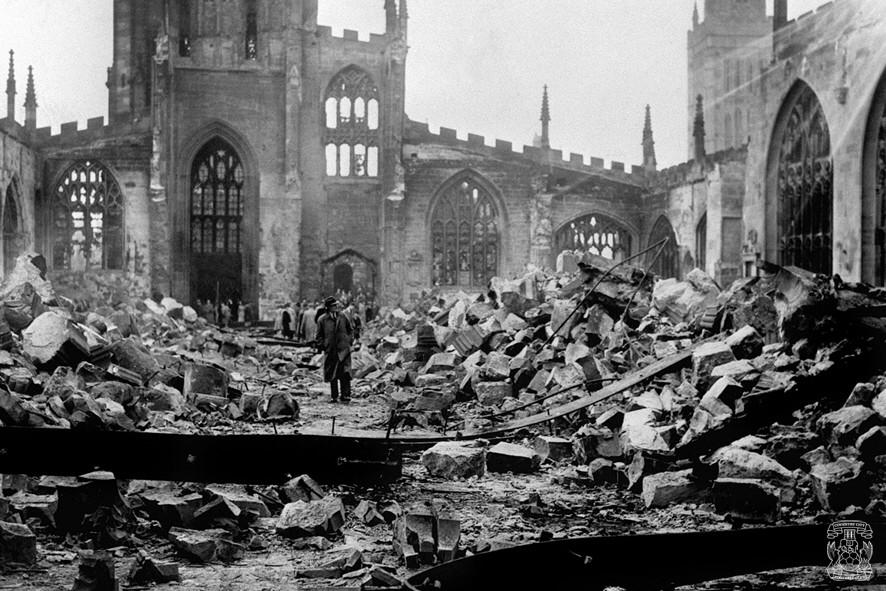 74 years ago tonight, nearly 600 lives were lost & 1000 people injured in the Coventry Blitz #WeWillRememberThem http://t.co/k2hgq2YyDH