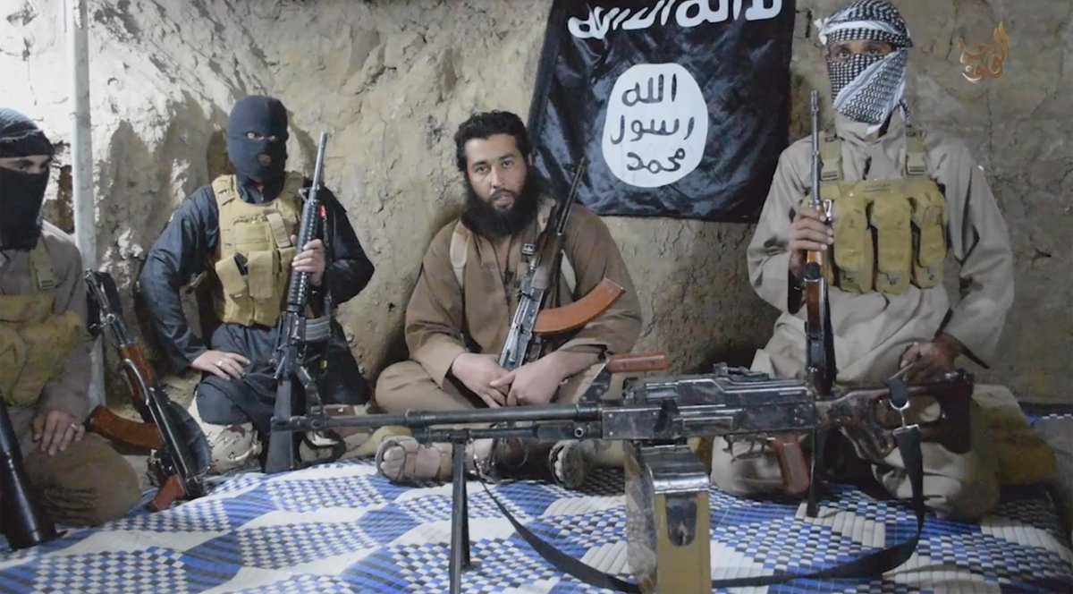 """ISIS commanders in cave. Sounds familiar. Revelation 6:15-17, """"And the kings of the earth, the great men, the rich men, the commanders, the mighty men, every slave and every free man, hid themselves in the caves and in the rocks of the mountains, and said to the mountains and rocks, 'Fall on us and hide us from the face of Him who sits on the throne and from the wrath of the Lamb! For the great day of His wrath has come, and who is able to stand?'"""""""