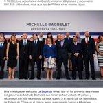 #ViajesDelGobierno: ministros de Bachelet han estado 261 días fuera de Chile.. Que opinan?? http://t.co/1p0n2qfZoN http://t.co/35oRqzAmyv
