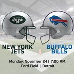 Tickets are FREE for Mondays Bills-Jets game at Ford Field. How to get yours: http://t.co/dgYvJM8Zvp http://t.co/Nt5CUaWI1B