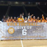 TY @HollyWarlick & @LadyVol_Hoops for all of the support this week! Good luck tonight against Winthrop! #OneTennessee http://t.co/EiIFLjUDZY