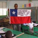 #ParoDocente Gracias al colega de República Dominicana por el apoyo desde la distancia :) http://t.co/pFNOTuKaQp