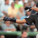 """""""The Kid"""" turns 45! Ken Griffey, Jr. is still the youngest ever winner and only 3-time Home Run Derby champion. #fbf http://t.co/gee2Ba8s2g"""