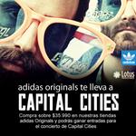 Concurso @adidasoriginals! Además todos los que den RT a este TW estarán participando por una entrada. Sorteo 27/11. http://t.co/pOU57gRCbY