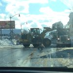 Scene on South Park Ave in South Buffalo on our way to Lackawanna to talk to the Mayor @wkbw http://t.co/X8DB9DPN5h