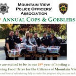18th Annual Cops & Gobblers this Sunday 11/23 at 9AM; well need you #MountainView > http://t.co/Mf6stlVUhq http://t.co/DDfsmYBzqL